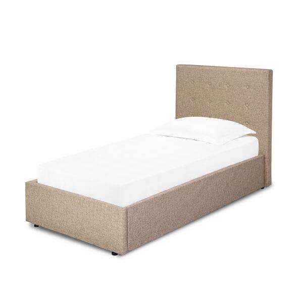 Lucca Lift Single Bed - Beige