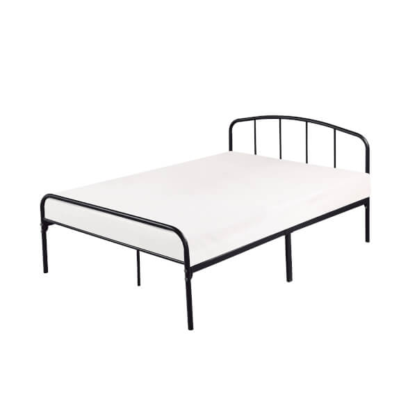 Milton Kingsize Bed Frame - Black