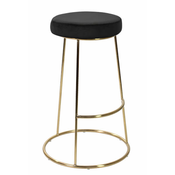 Opera Bar Stool - Black - Pack of 2