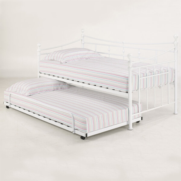 Olivia Trundle Bed - White