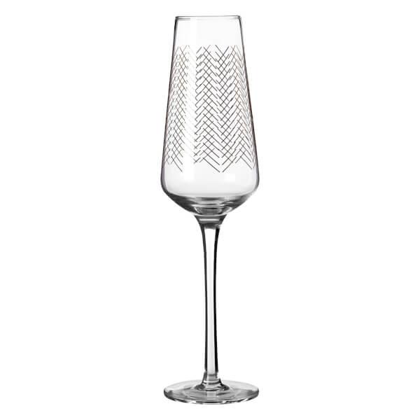 Jazz Champagne Glasses - Set of 4