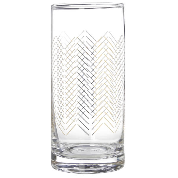 Jazz Highball Glasses - Set of 4