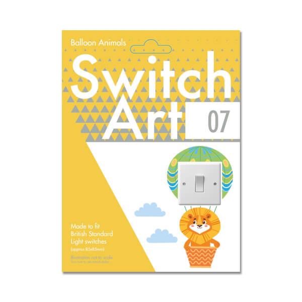 Light Switch Art Stickers - Balloon Animals