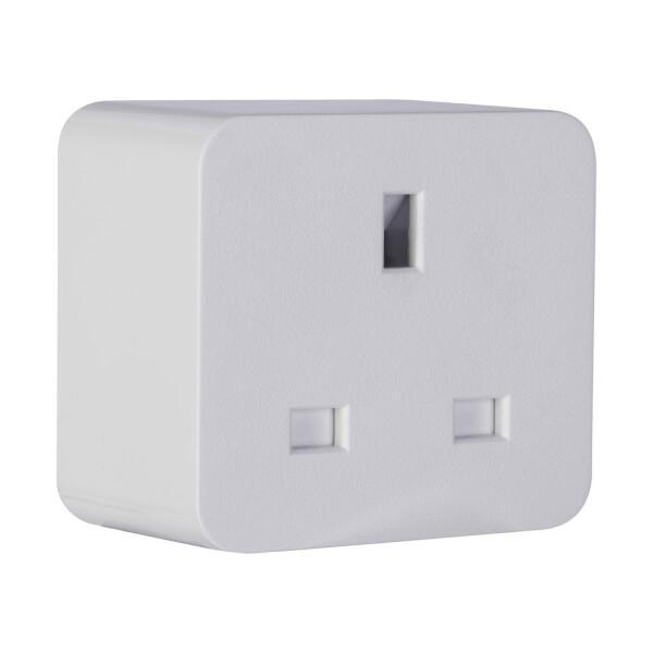 TCP Smart Wifi UK Single Socket Plug - White