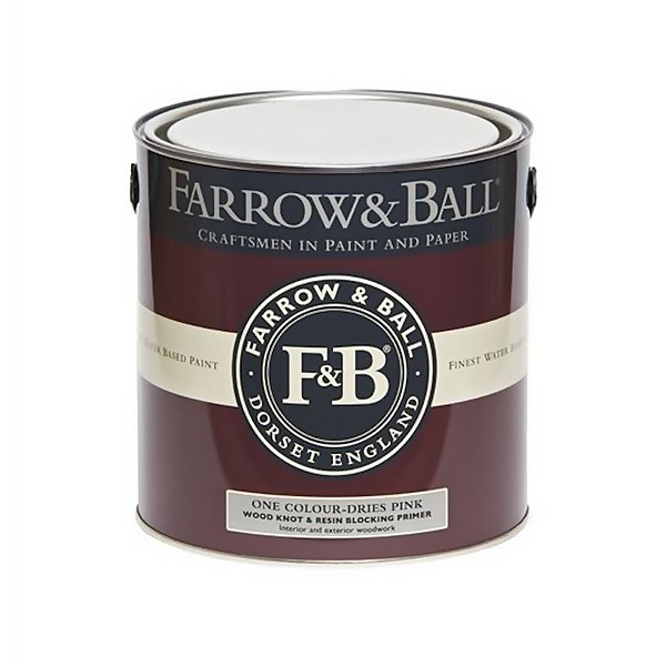 Farrow and Ball Wood Knot & Resin Blocking Primer - 2.5L