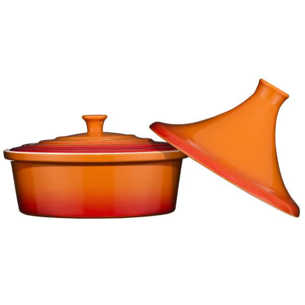 Ovenlove Tagine Casserole Dish - 2.3L - Graduated Orange