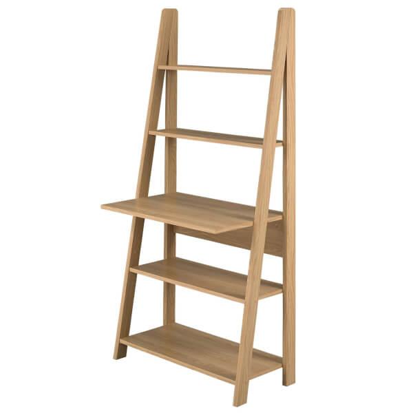 Tiva Ladder Desk - Oak