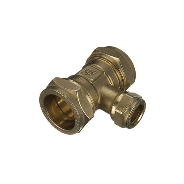 Compression Reducing Tee 22x15x22mm