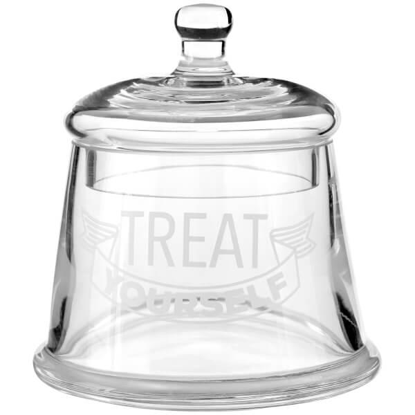 Treat Yourself Glass Storage Jar