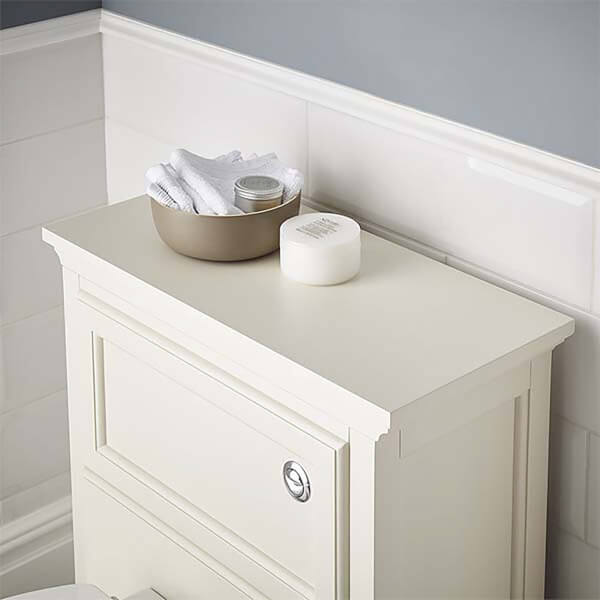 Bathstore Savoy Toilet worktop old english white