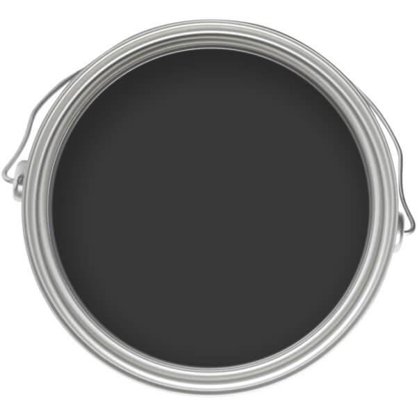 Homebase Smooth Masonry Colour Paint Tester - Black 250ml