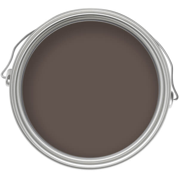Homebase Smooth Masonry Colour Paint Tester - Bitter Chocolate 250ml