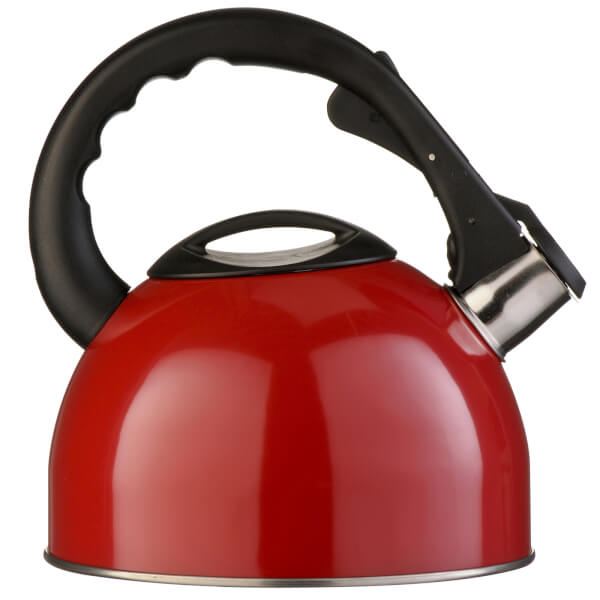 Whistling Kettle - 2.5Ltr - Red