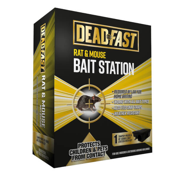 Deadfast Mouse & Rat Bait Station Only Single