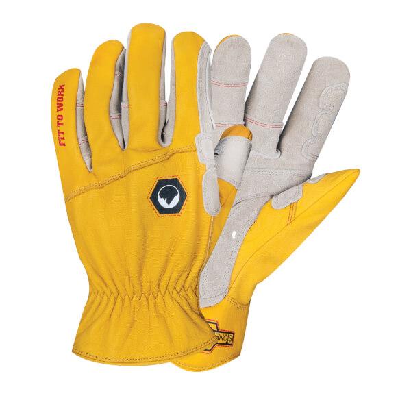 Stonebreaker Rancher Leather Work Gloves- Large