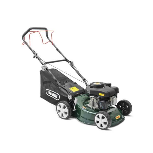 Webb Classic Petrol Rotary Lawnmower (WER410SP)