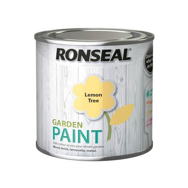 Ronseal Garden Paint - Lemon Tree 250ml