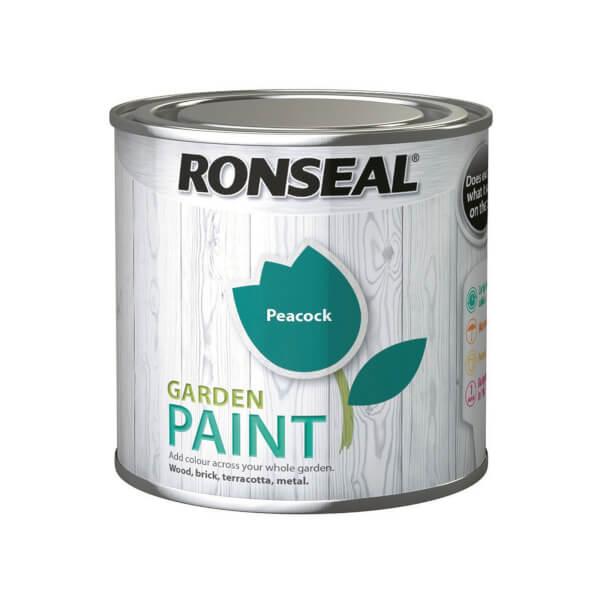Ronseal Garden Paint - Peacock 250ml