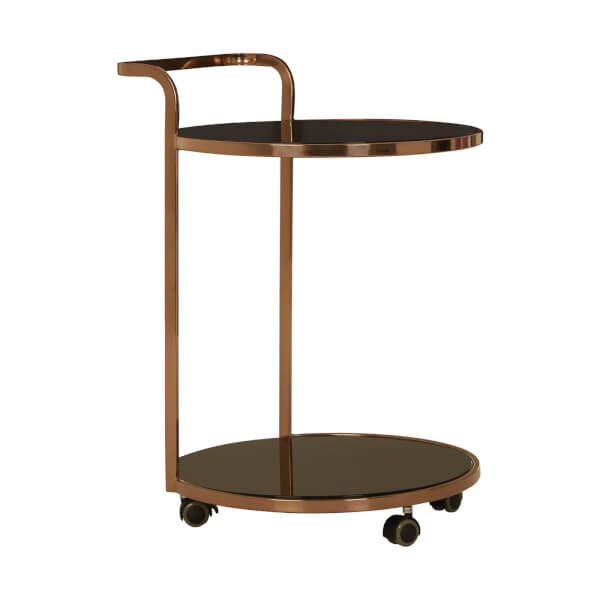 Jakson 2 Tier Gold Drinks Trolley