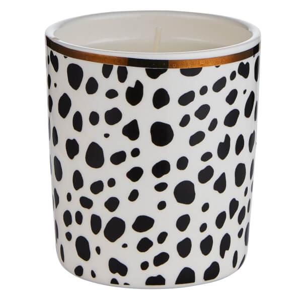 Dalmatian Ceramic Candle