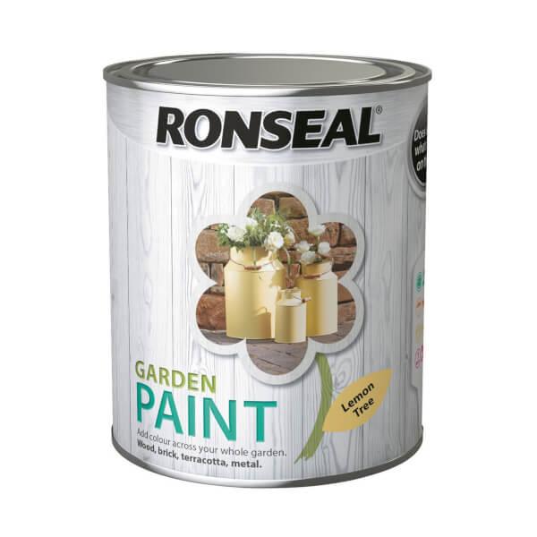 Ronseal Garden Paint - Lemon Tree 750ml