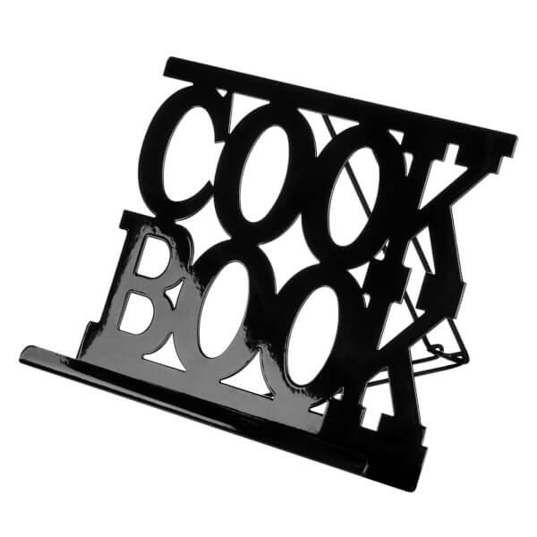 Cookbook Stand - Black Enamel