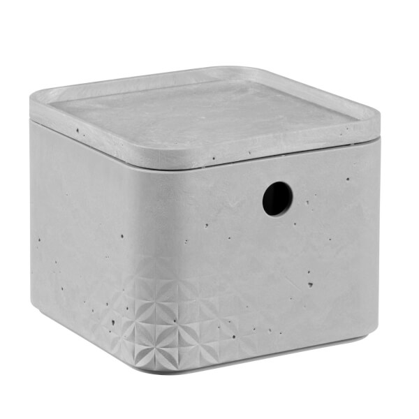 CURVER Beton Box with Lid - 3L (Extra Small)