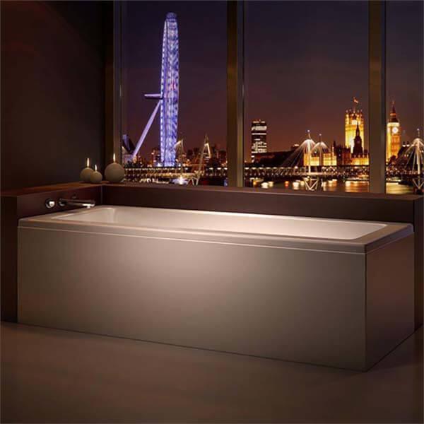 Bathstore Madeira Single Ended Straight Bath - 1600 x 700mm