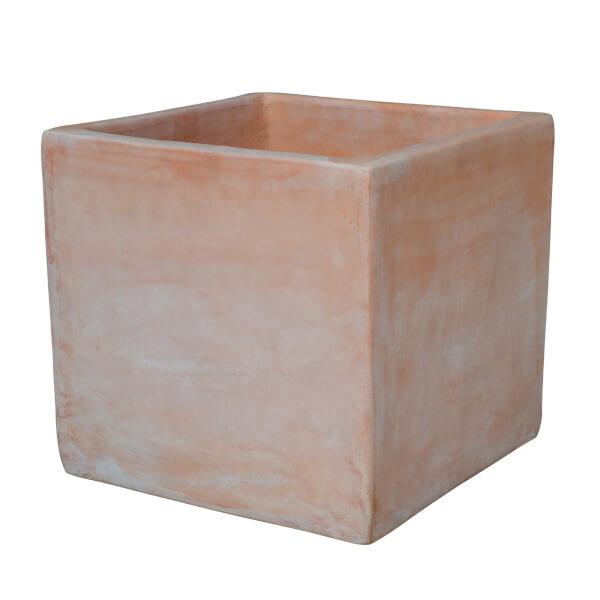Terracotta Square Pot 17cm