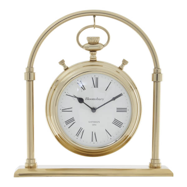 Hampstead Mantel Clock - Gold