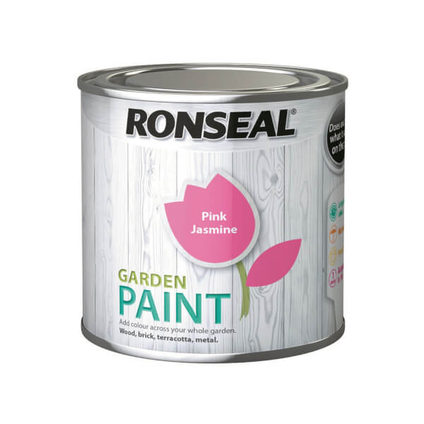 Ronseal Garden Paint - Pink Jasmine 250ml