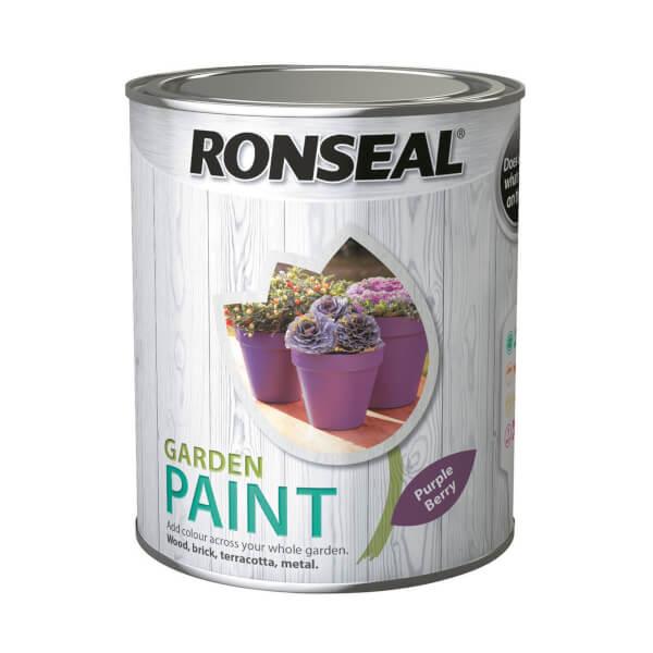 Ronseal Garden Paint - Purple Berry 750ml