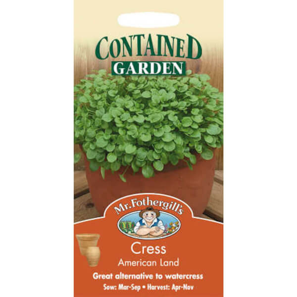 Mr. Fothergill's Cress American Land (Barbarea Verna) Seeds