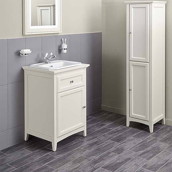 Bathstore Savoy Old English 600mm 1 Tap Hole Floorstanding Vanity Unit