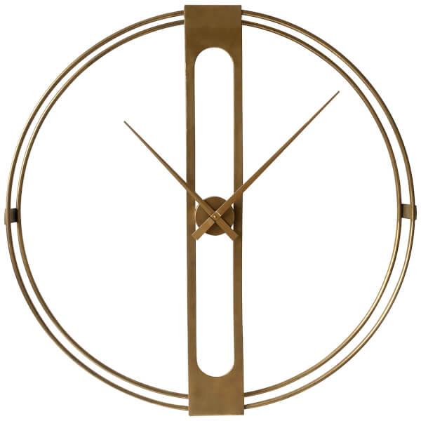 Beauly Wall Clock - Gold Finish