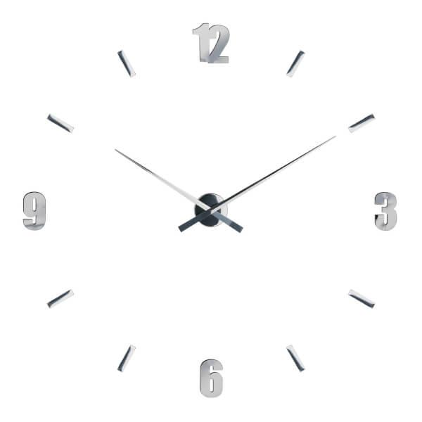 DIY Wall Clock - Mirrored