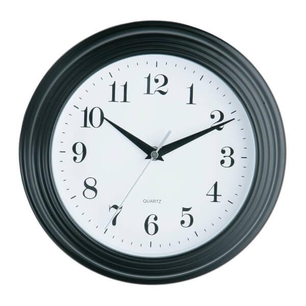 Wall Clock - Vintage Black