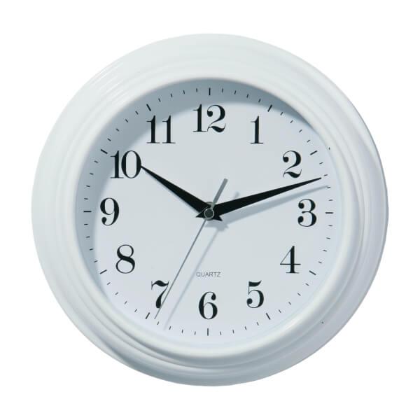 Wall Clock - Vintage White