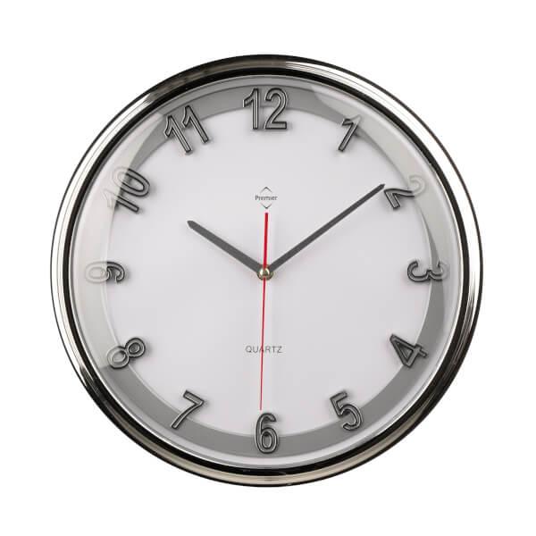 Wall Clock - Silver