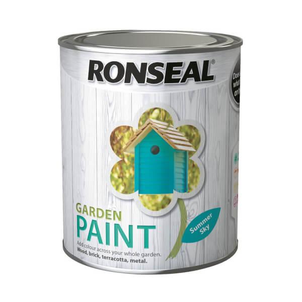 Ronseal Garden Paint - Summer Sky 750ml