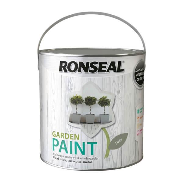 Ronseal Garden Paint - Slate 2.5L