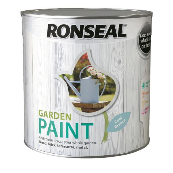 Ronseal Garden Paint - Cool Breeze 2.5L
