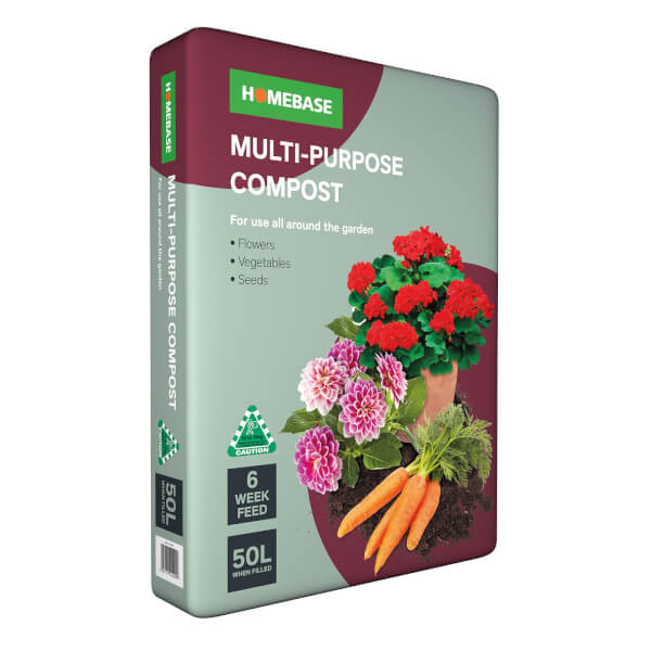 Homebase Multi-Purpose Compost 50L