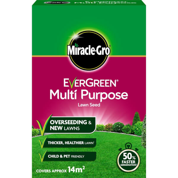 Miracle-Gro EverGreen Multipurpose Grass Seed - 14m2