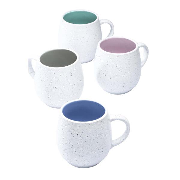 Speckled Hug Mugs - Set of 4