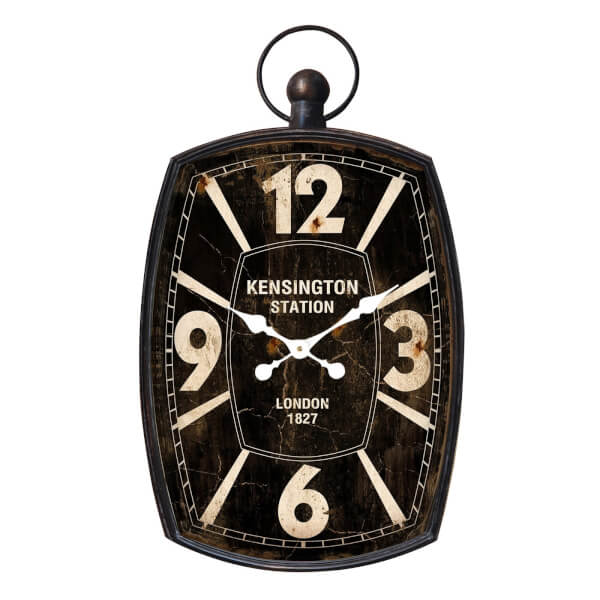 Kensington Wall Clock - Black