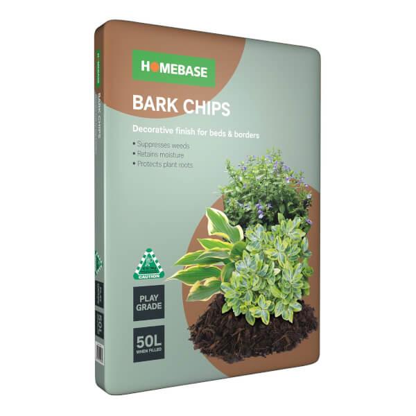 Homebase Bark Chips - 50L