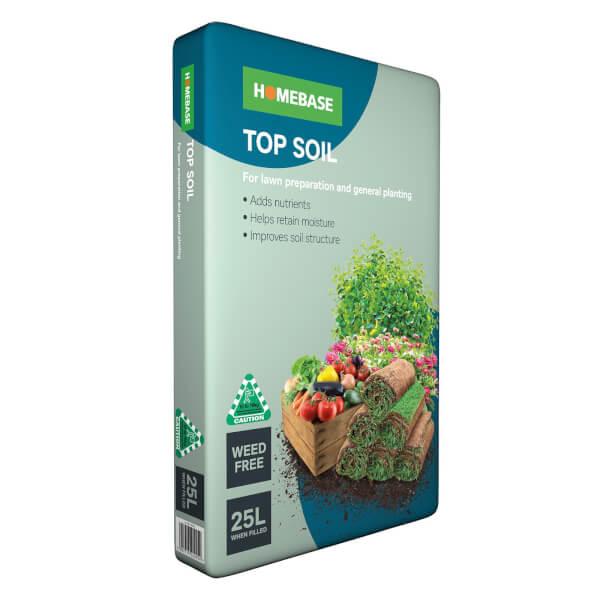 Homebase Top Soil 25L