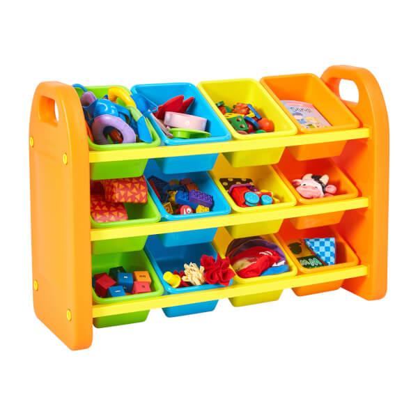 12 Bin Storage Organiser