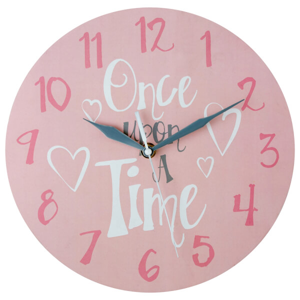 Kids Once Upon A Time Wall Clock